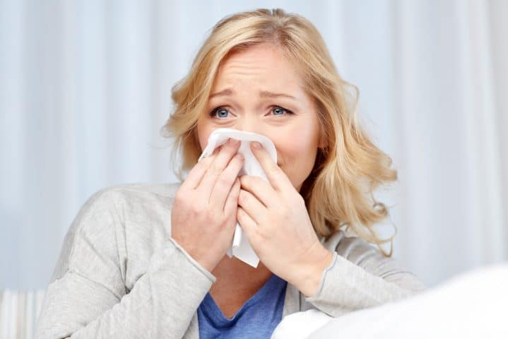 bay area rhinitis doctor blowing nose